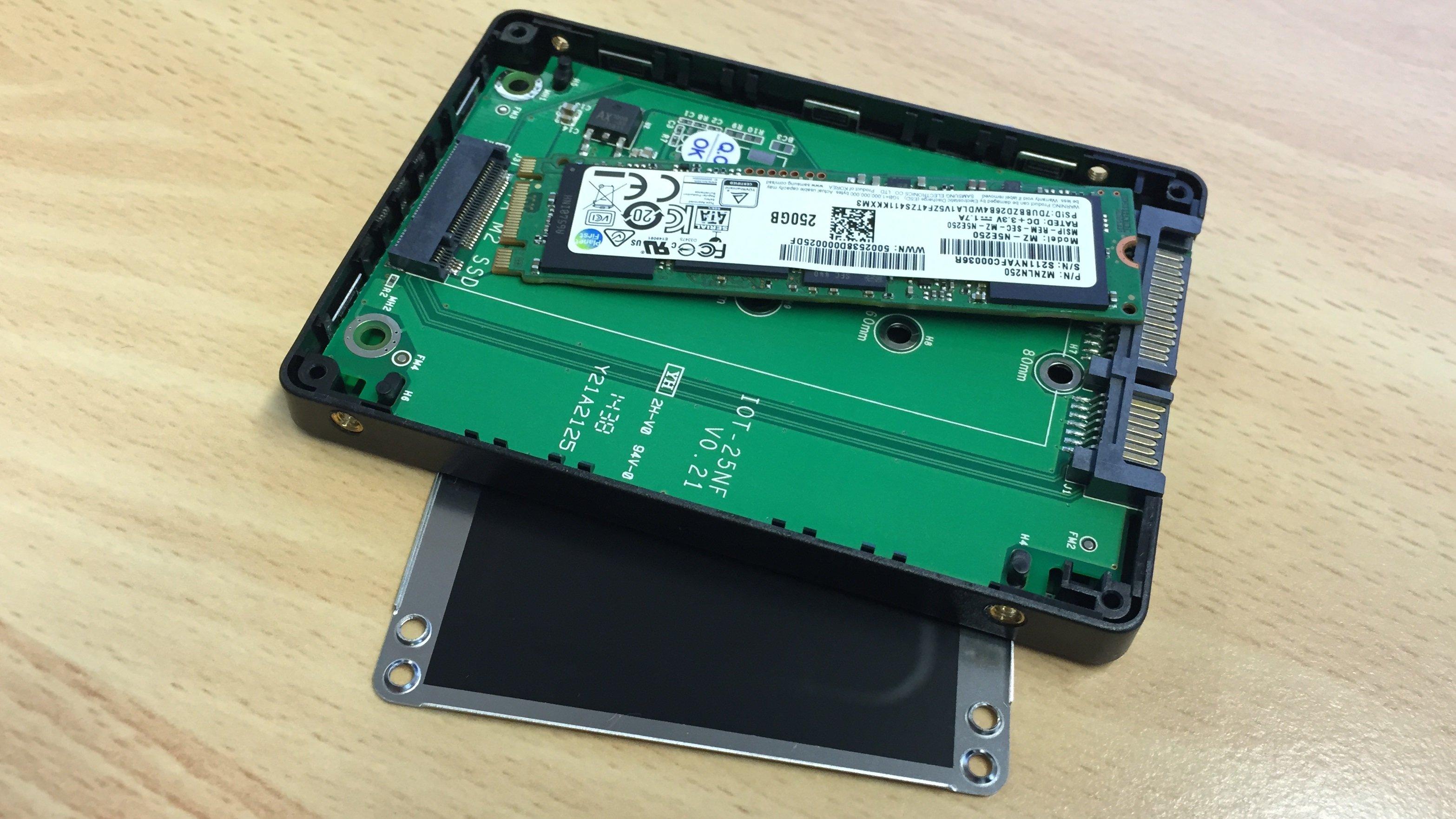 Samsung SSD 850 EVO M.2 250GB - MZ-N5E250BW - Data Migration Tool