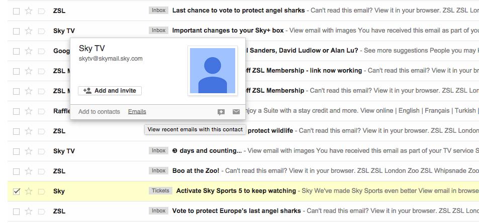 How to stop match com emails