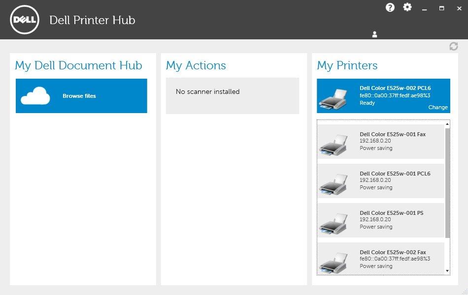 Printer Driver For Dell E525w