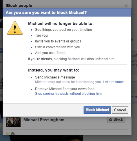 How to block someone on Facebook (and unblock them ...