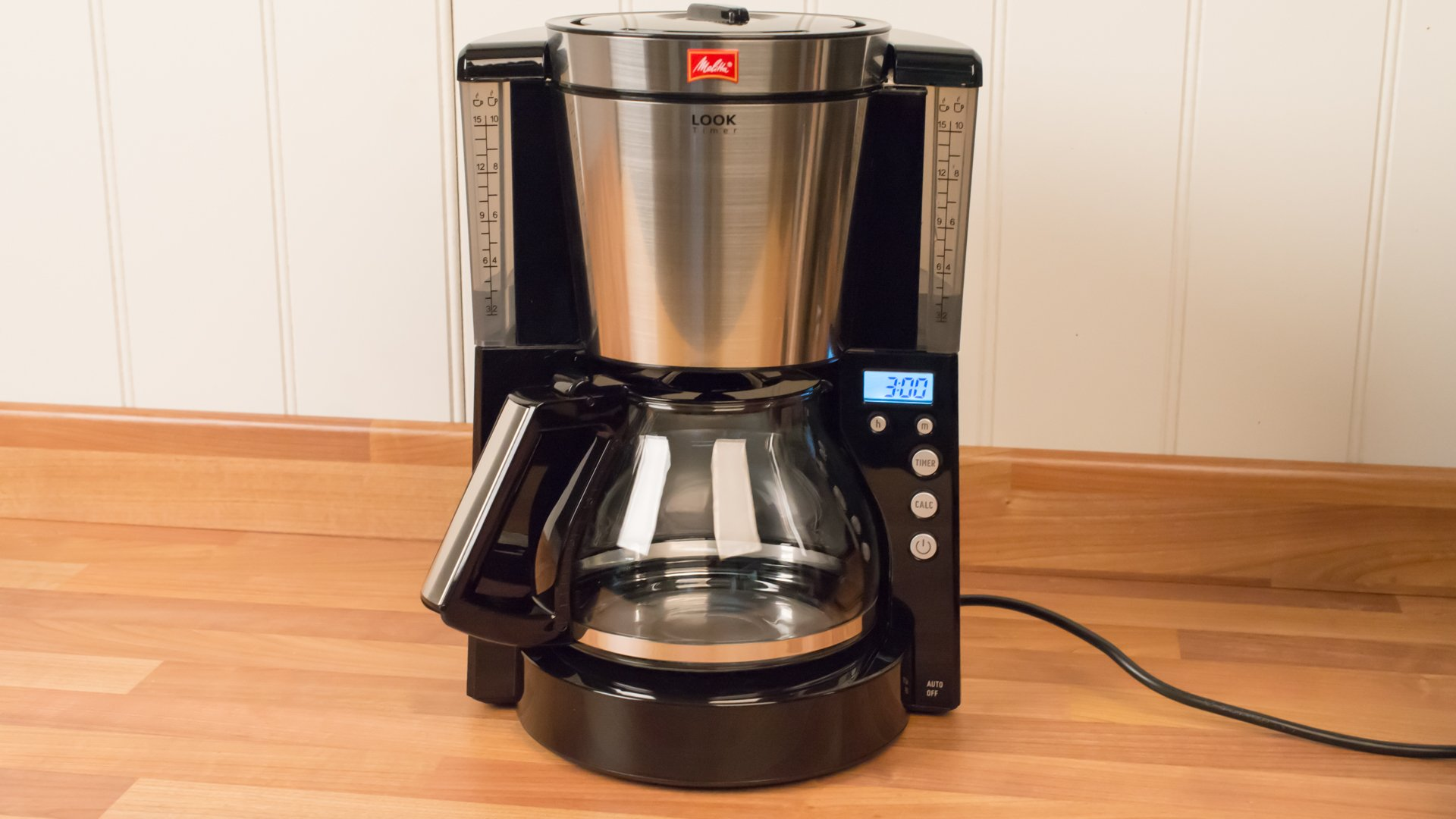 Drip Coffee Maker With Timer : Melitta Look Timer review Expert Reviews