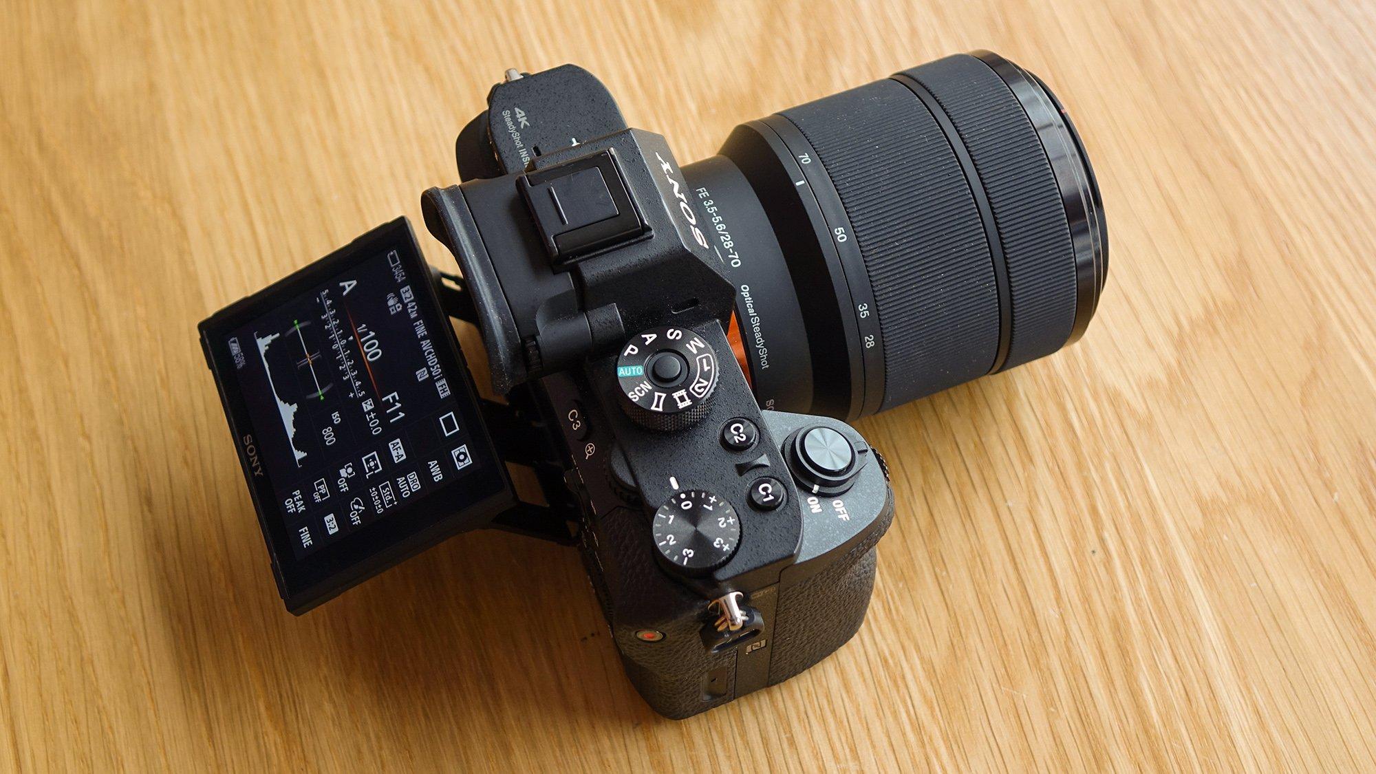 Sony A7R II Tilt