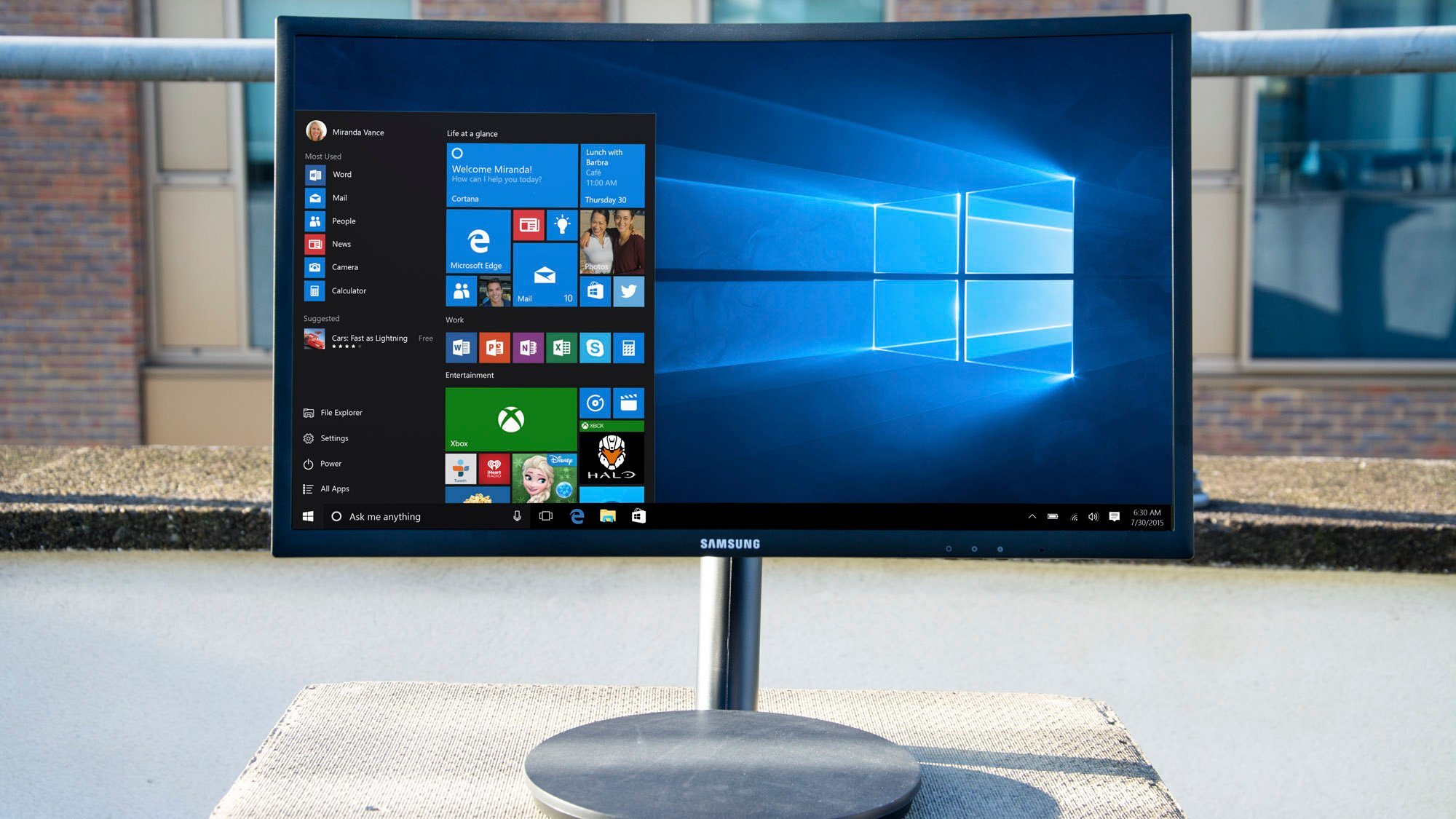 Samsung C24fg70 Review A Storming Gaming Monitor With Top