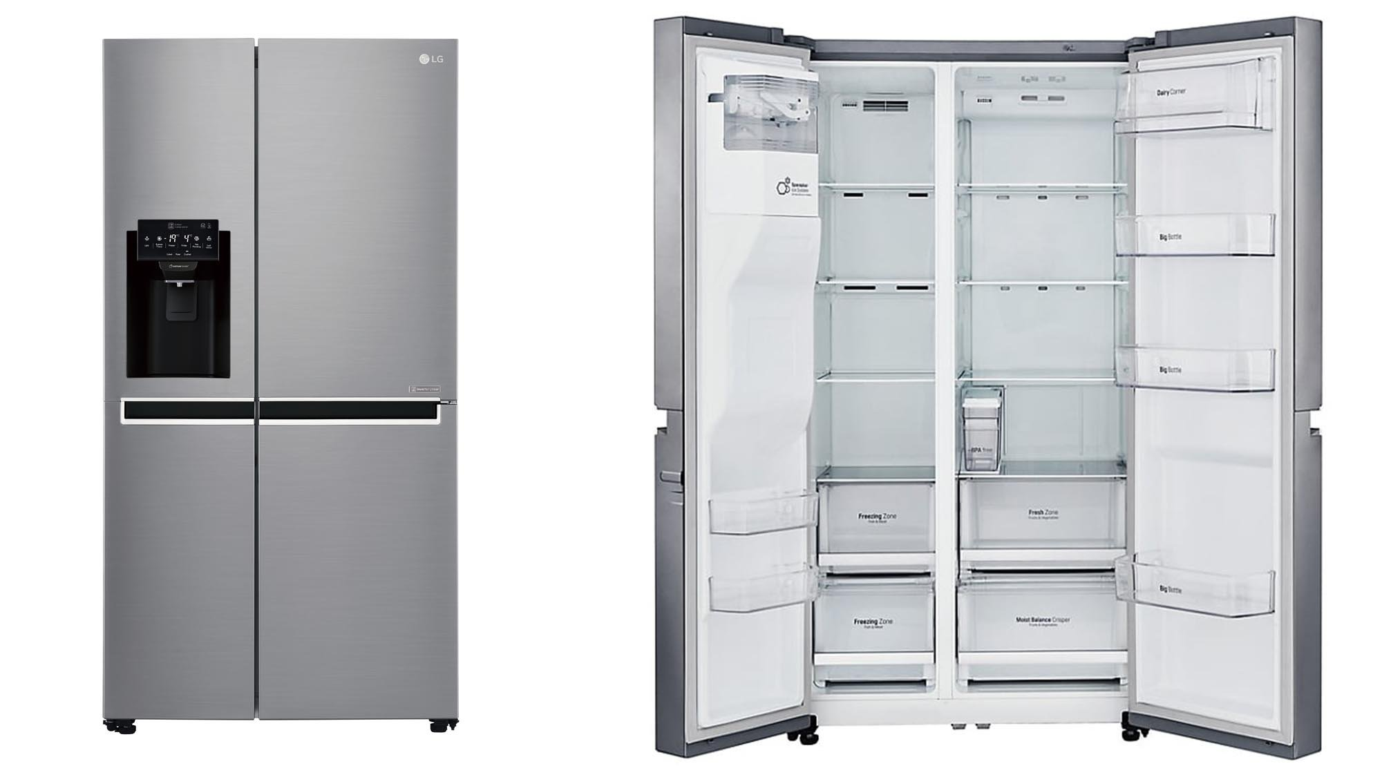 Cheap big fridge freezers