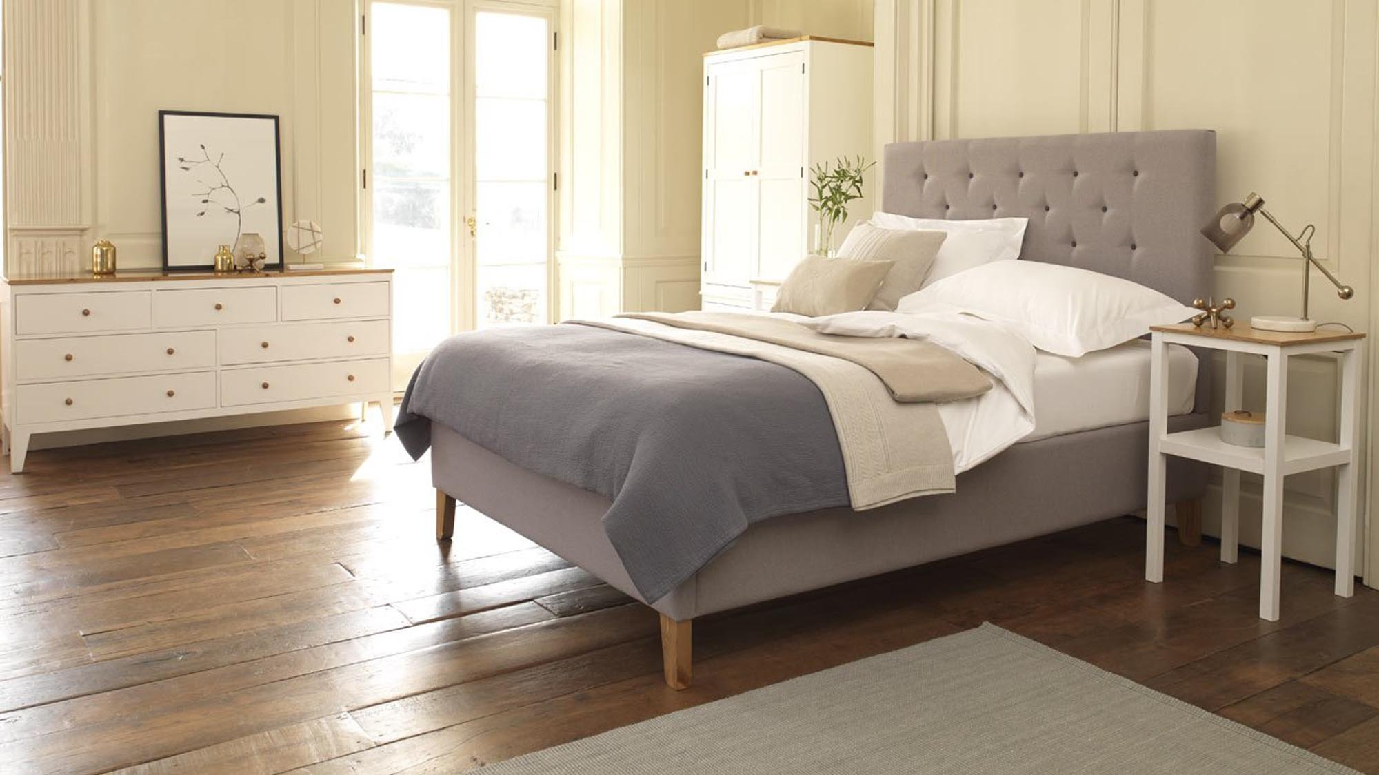 Best Single Beds Uk Part - 49: Victorian-inspired Diamond-styled Buttoning Can Go One Of Two Ways; Either  It Makes A Bed Look Like The Kind Your Granny Would Have Had Back In The  Dark ...