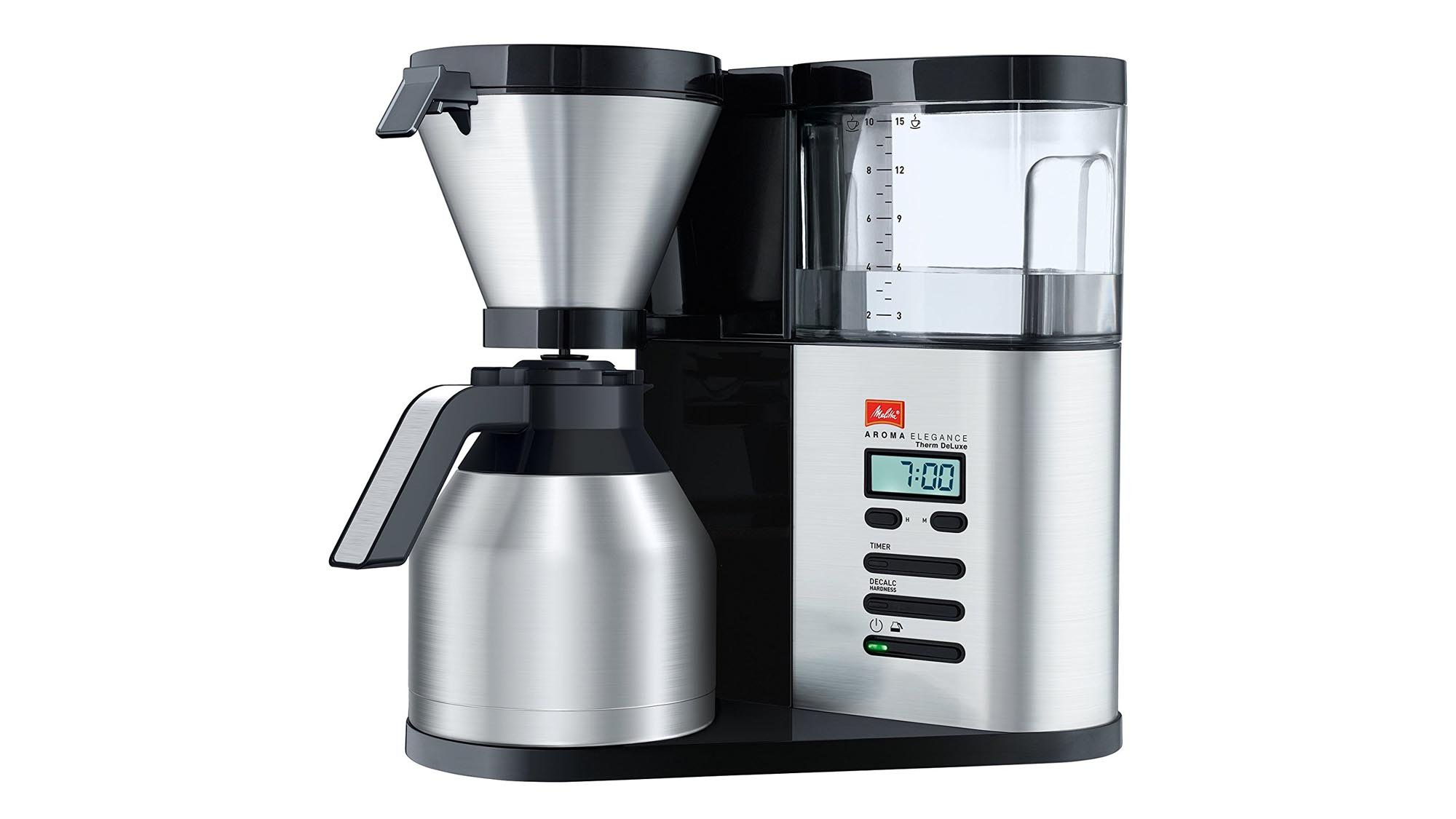 if you want the bestquality filter coffee the melitta aroma elegance therm deluxe is the machine for you itu0027s extremely easy to use has a removable