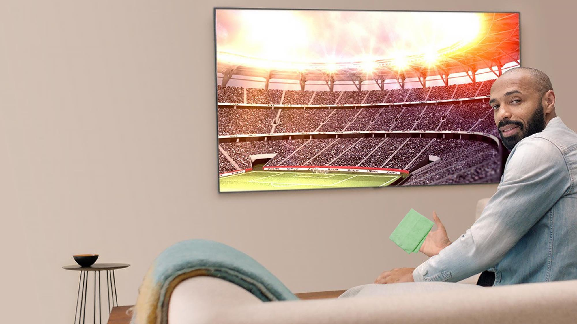 how to clean a tv screen the best way to clean your lcd plasma or oled tv expert reviews. Black Bedroom Furniture Sets. Home Design Ideas
