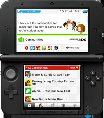 Nintendo 3DS MiiVerse