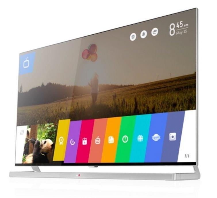 lg smart tv interface running web os
