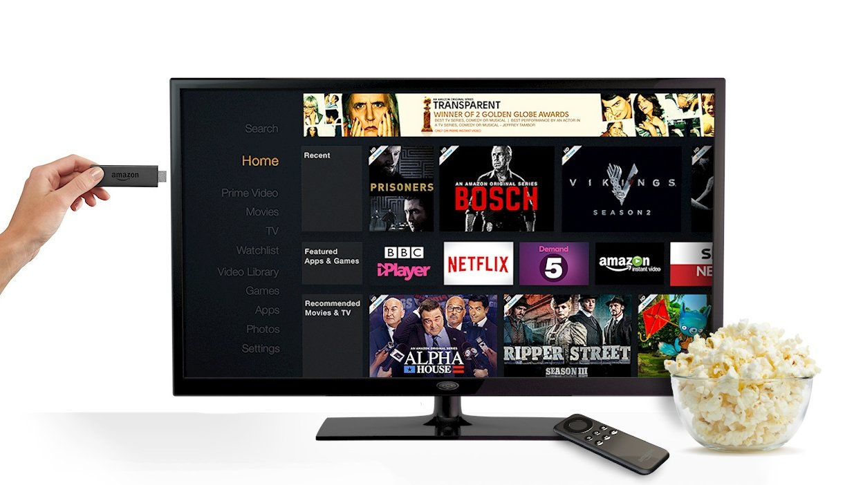 how to put amazon prime on tv