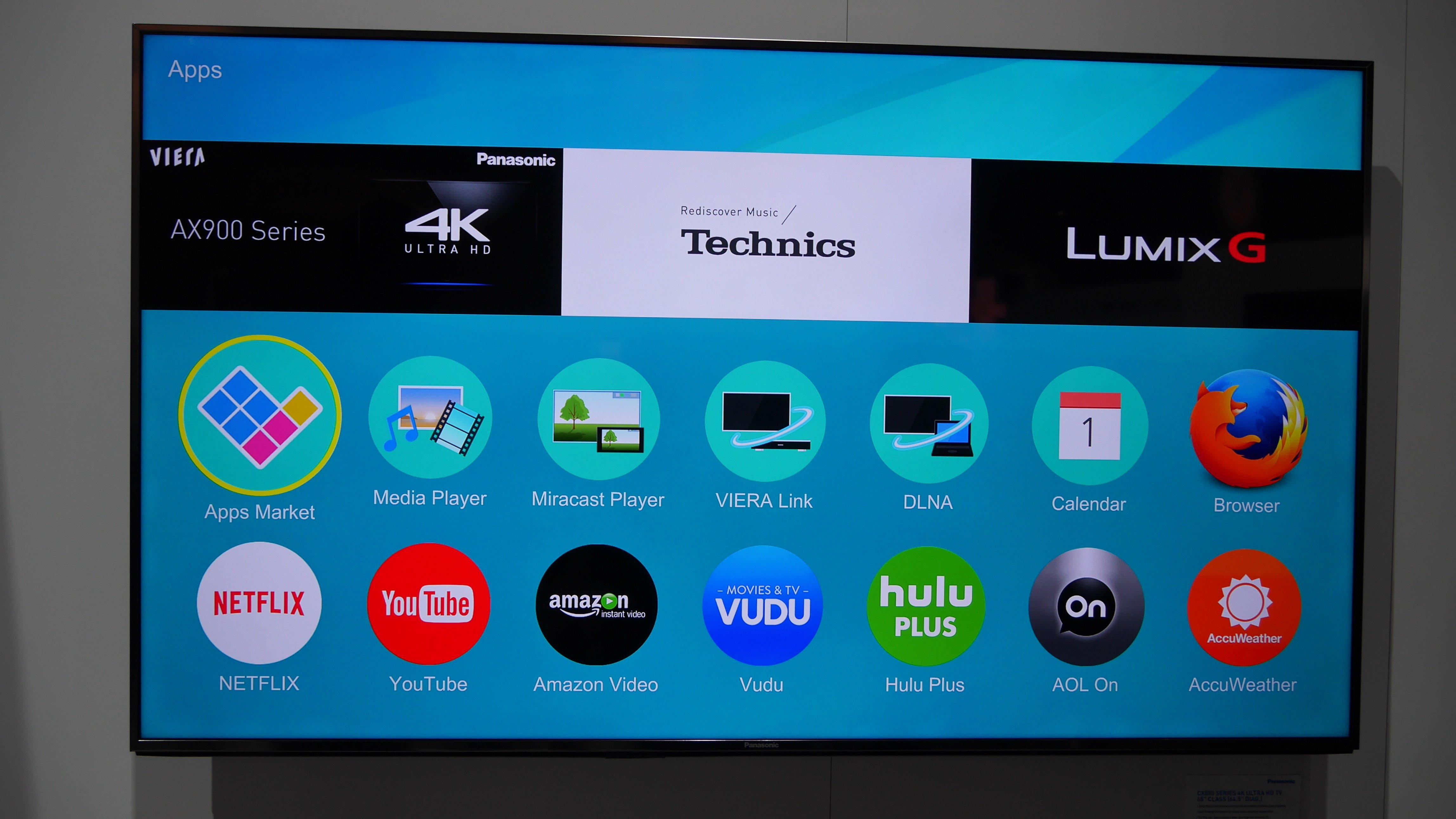 panasonic firefox os smart tv review first look expert reviews. Black Bedroom Furniture Sets. Home Design Ideas