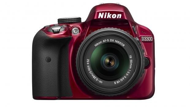 Nikon D3300 in red