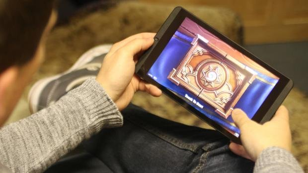 Nvidia Shield Tablet K1 - Hearthstone