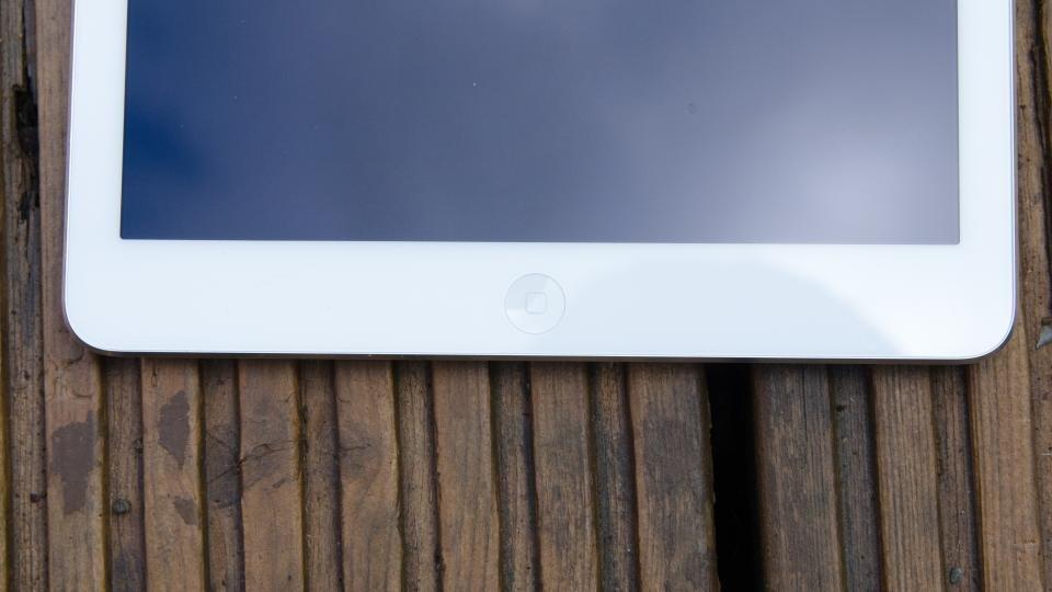 iPad Air home button