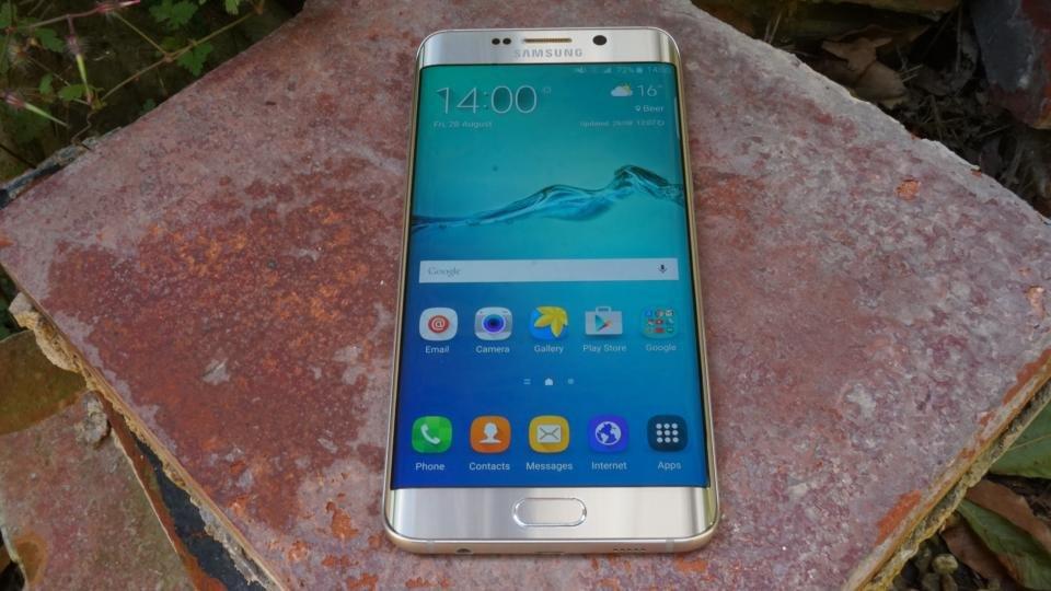 Samsung Galaxy S6 Edge+ display