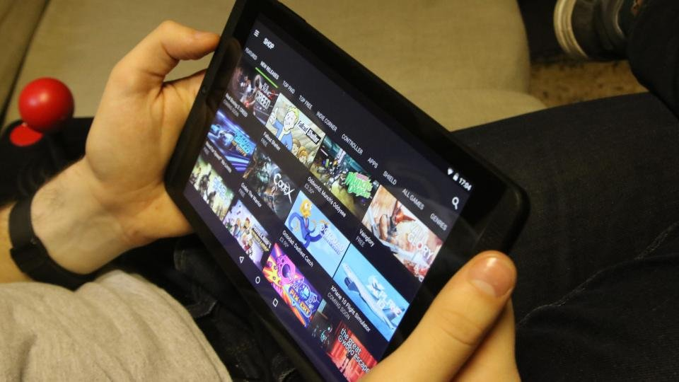 Nvidia Shield Tablet K1 - Games