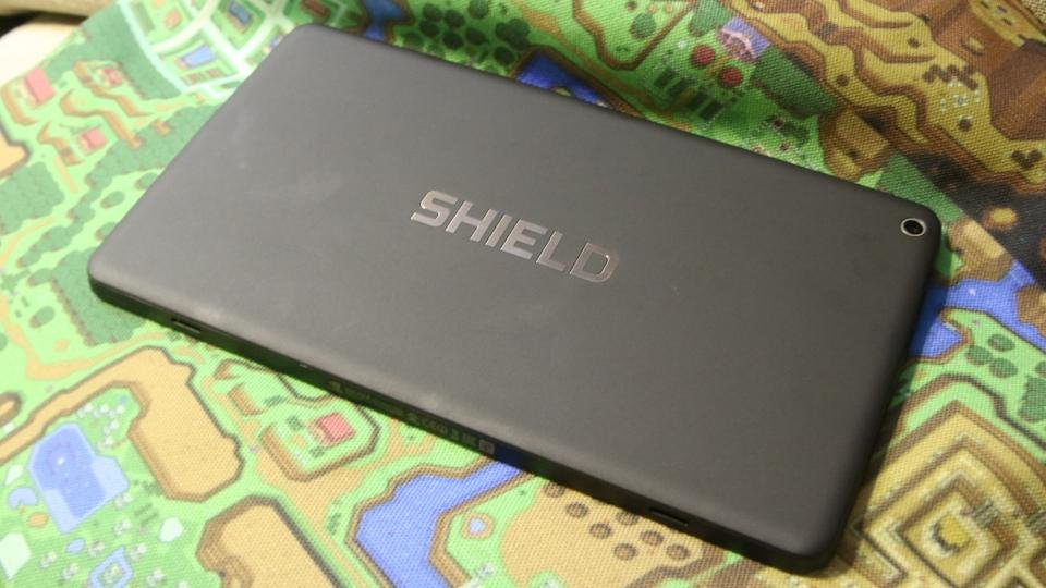 Nvidia Shield Tablet K1 - back