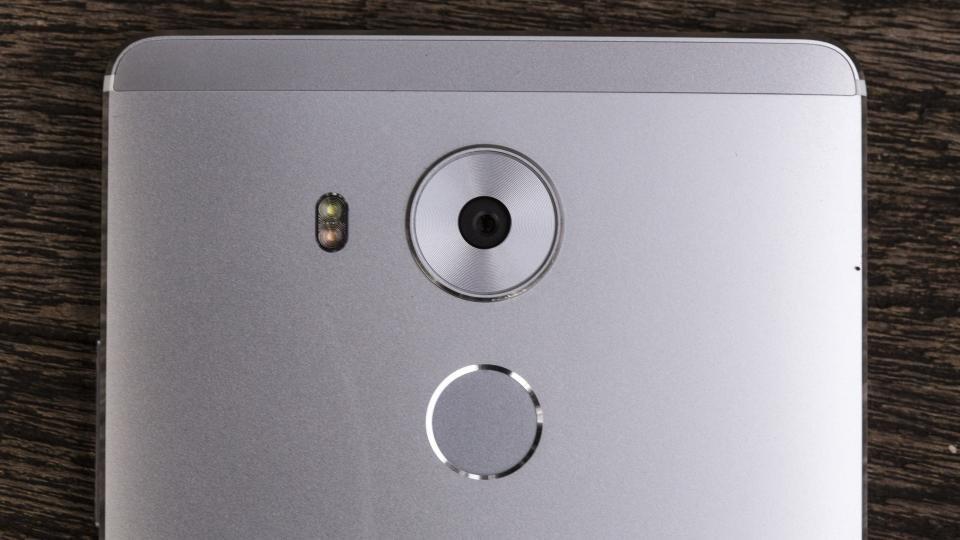 Huawei Mate 8 fingerprint sensor