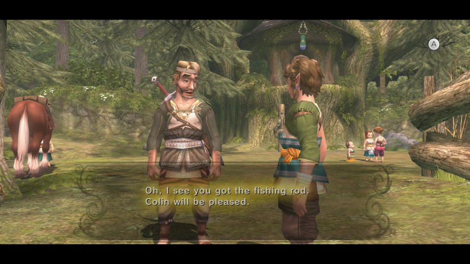 how to fish twilight princess hd