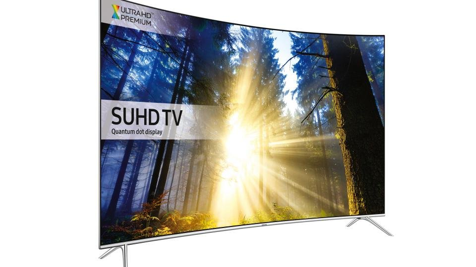 Samsung UE55KS7500 side angle