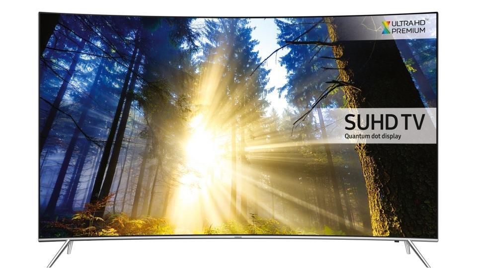 Samsung UE55KS7500 front