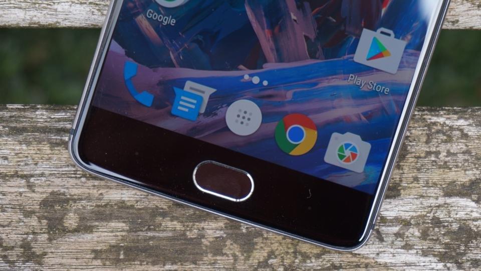 OnePlus 3指紋センサー