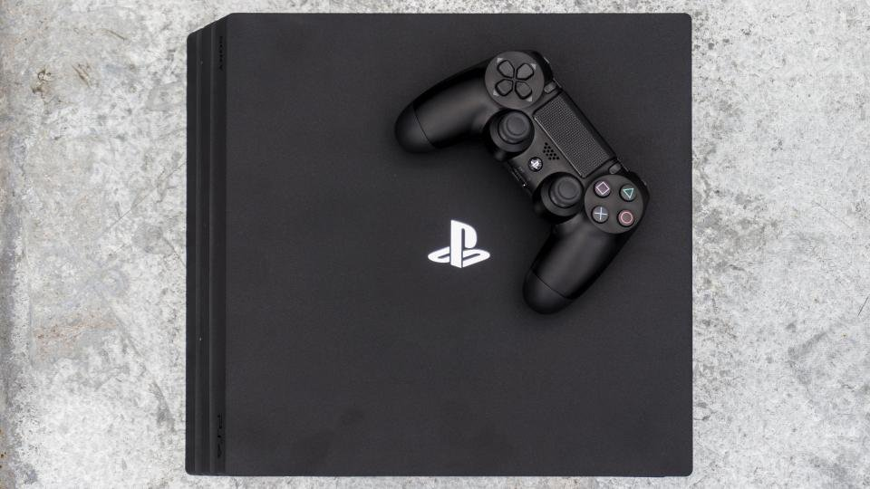 sony ps4 console. ps4 pro review: black friday price slashes sees playstation 4 drop below £300 sony ps4 console