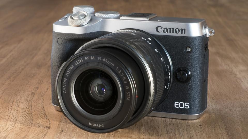 Kết quả hình ảnh cho Canon EOS M6