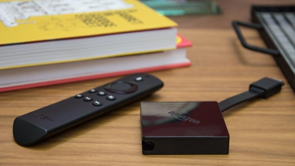 Amazon fire stick with Kodi and Alexa remote
