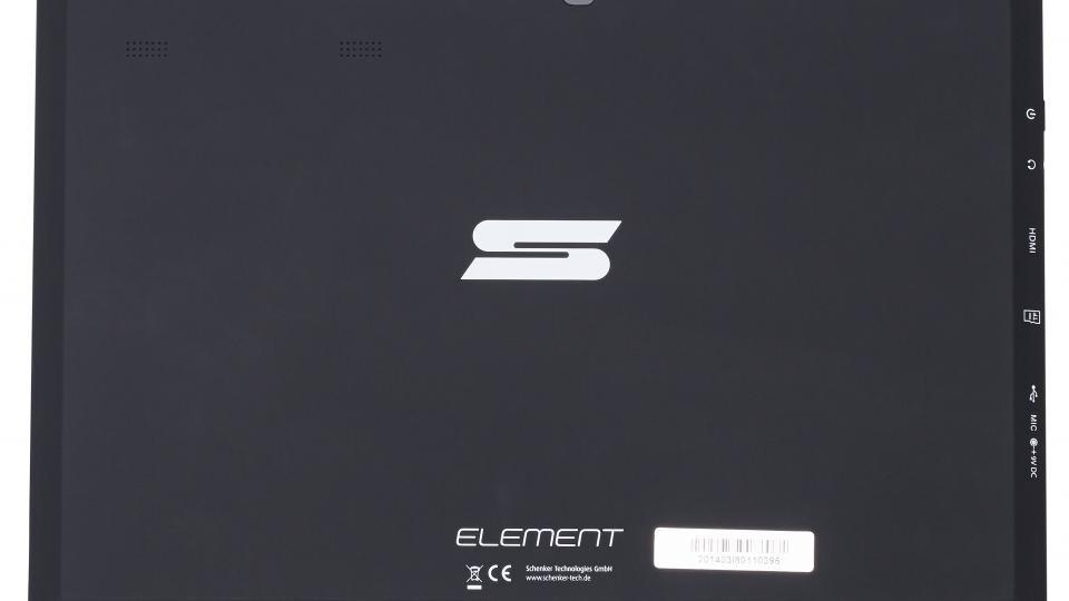 Schenker Element tablet rear