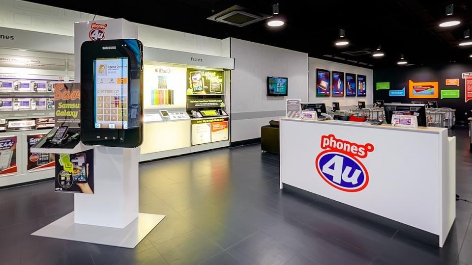 Phones4u deals in store