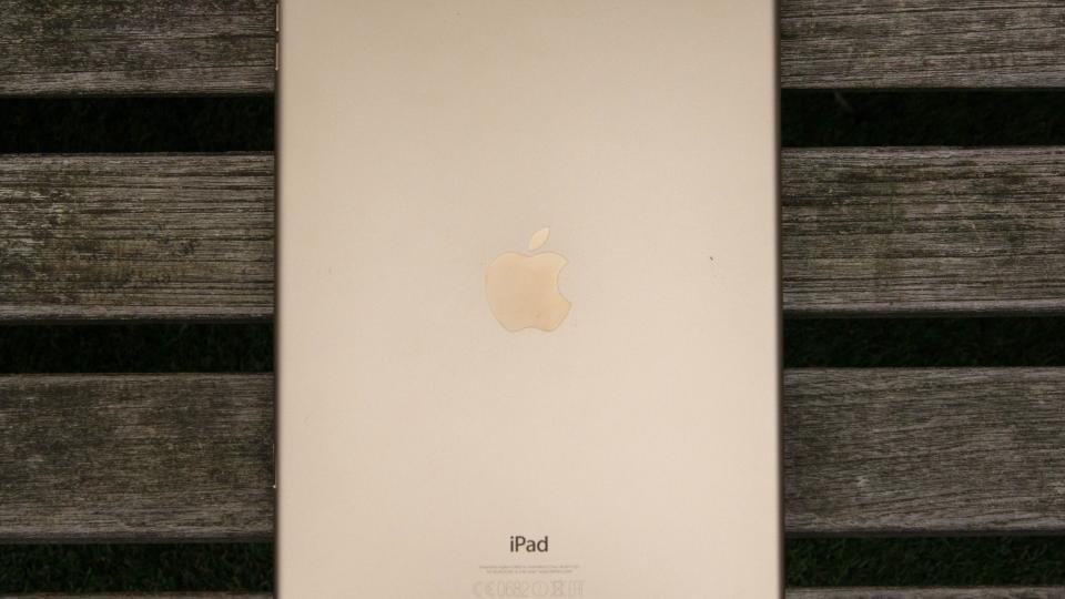 iPad Air 2 gold rear