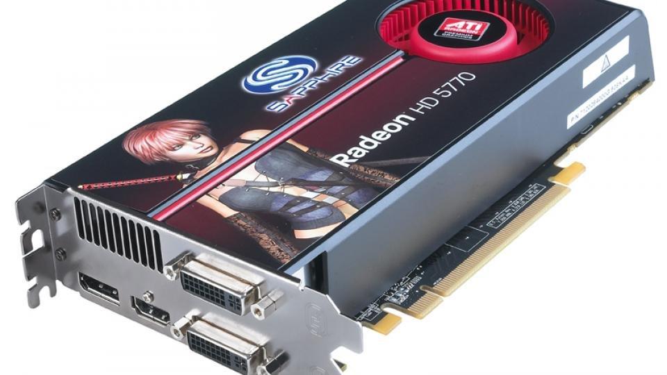 Sapphire Radeon HD 5770 Review