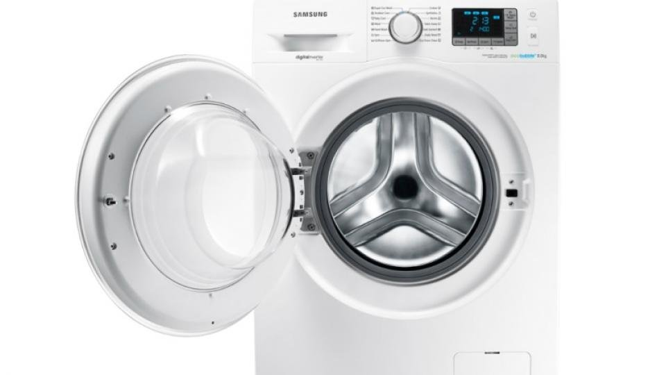 Samsung Ecobubble WF80F5E5U4W front