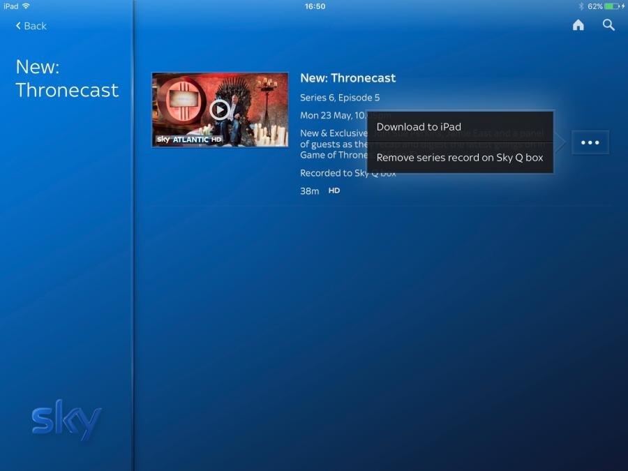 Sky Q Download