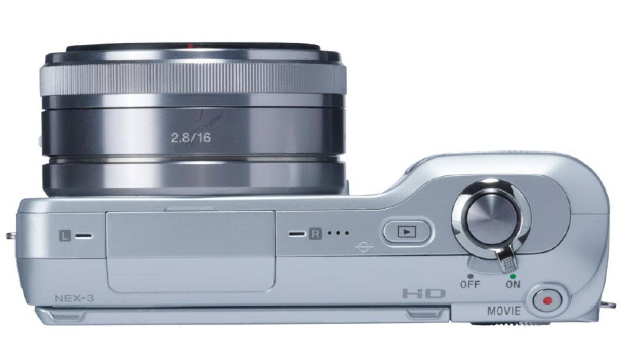 Sony NEX3 top