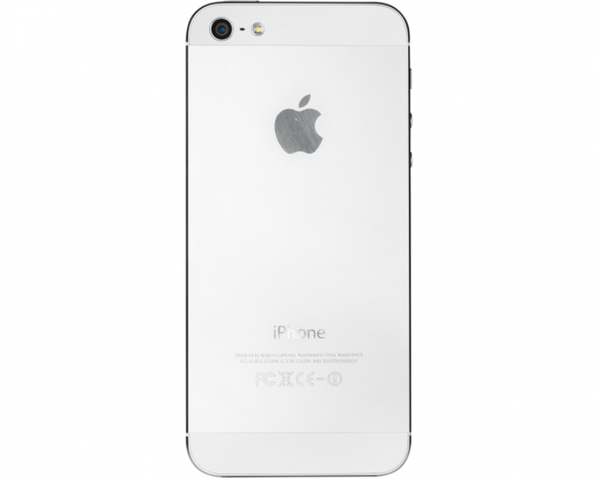 Apple iPhone 5 rear