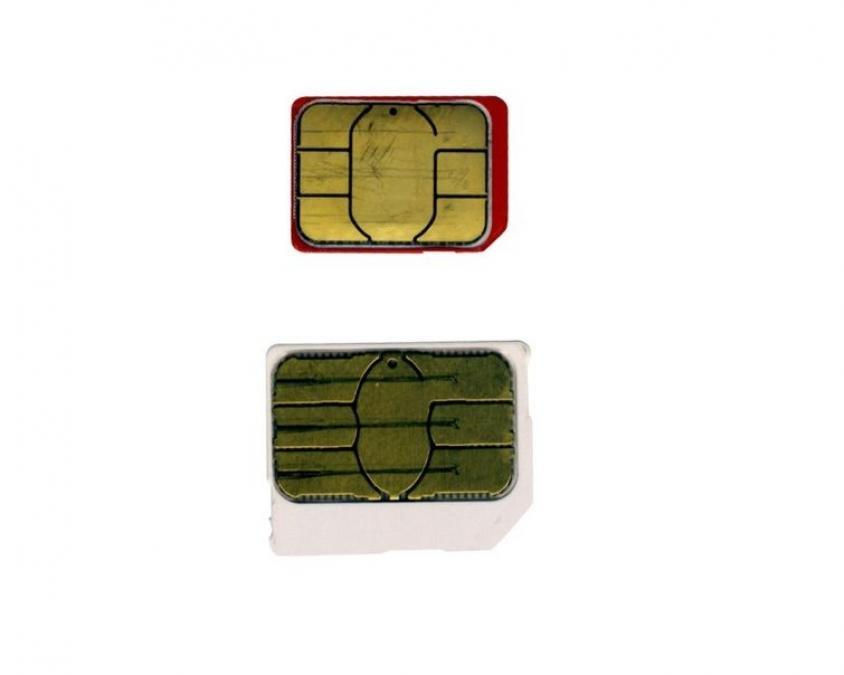 Apple iPhone 5 SIM card comparison