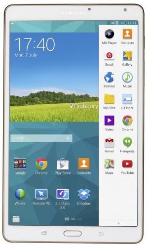 Samsung Galaxy Tab S 8.4 front