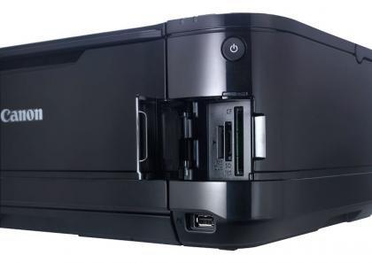 Canon PIXMA MG5150 Memory card slots