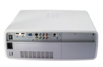 Sanyo PLV-Z800 back