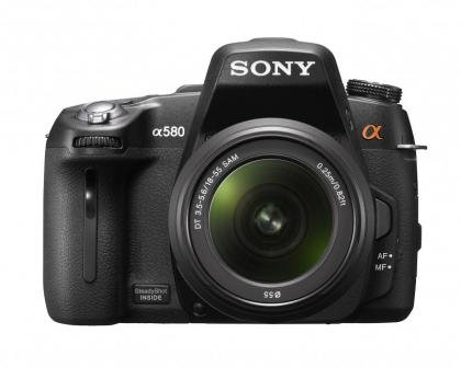 Sony Alpha DSLR-A580L front