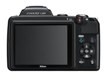 Nikon Coolpix L120 back