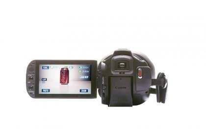 Canon HF G10 screen