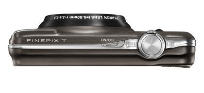 Fujifilm FinePix T200 top