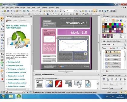 Serif WebPlus X8 Tutorial - Quick Start - YouTube