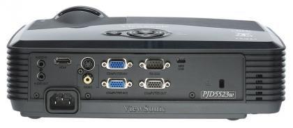 Viewsonic PJD5523w rear ports