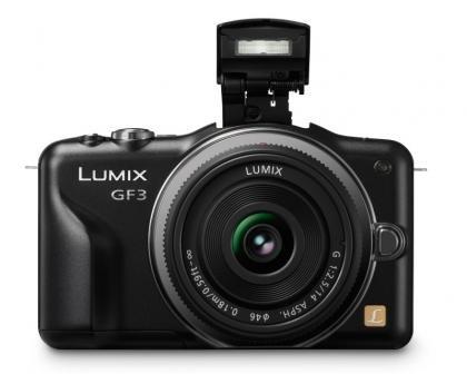 Panasonic Lumix DMC-GF3 flash