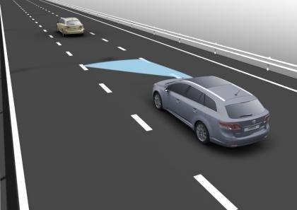 Toyota Avenis Lane-Keep Assist