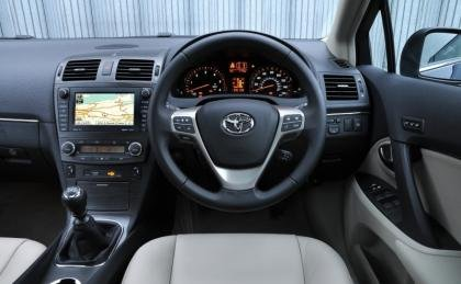 Toyota Avenis interior